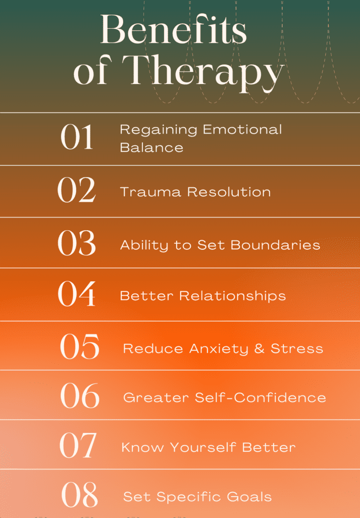 Benefits of Therapy